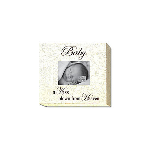 Forest Creations Baby a Kiss Blown From Heaven Picture Frame