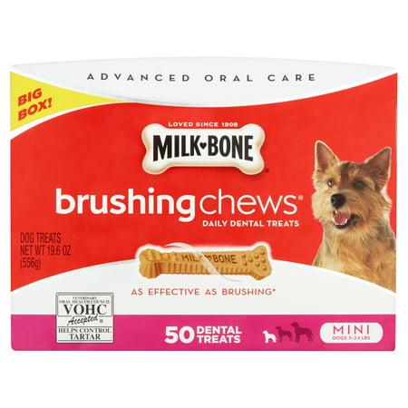 Milk-Bone Mini's Biscuits and Brushing Chews Mini Treats
