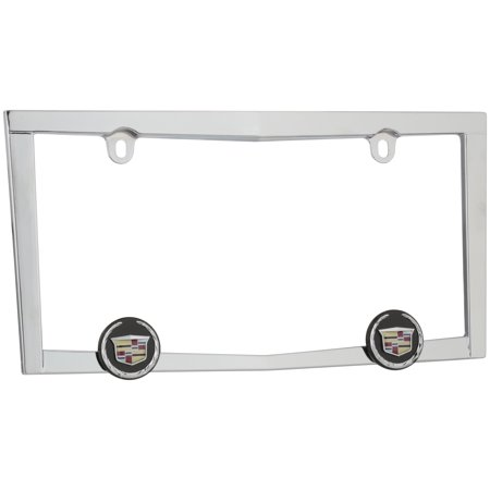 Cruiser Accessories® Cadillac® Chrome License Plate Frame ()