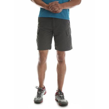 Wrangler Men's Outdoor Performance Nylon Cargo Short (Ash Performance Shorts)