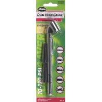 Slime 10-120psi Dual Head Pencil Gauge - 2016-A