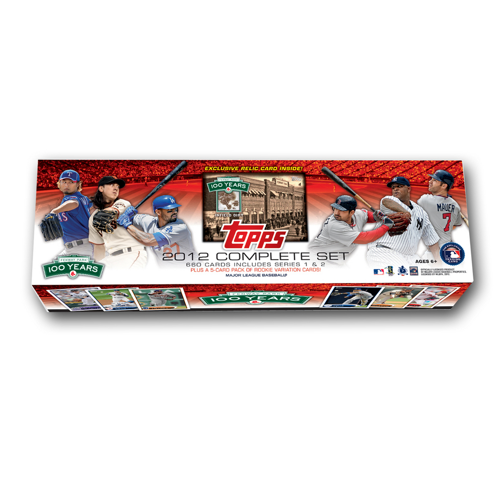 MLB Boston Red Sox 2012 Topps Fenway Factory Set 329371