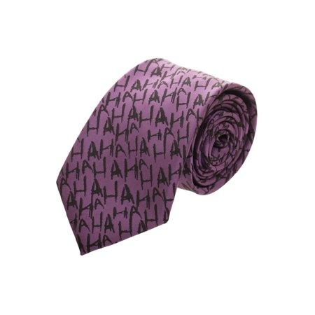 The Joker Micro Print Neck Tie - Joker Tie