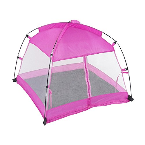 18 Inch Doll Accessories | Amazing Pink Dining Canopy Camping Tent, includes Matching... by Emily Rose Doll Clothes