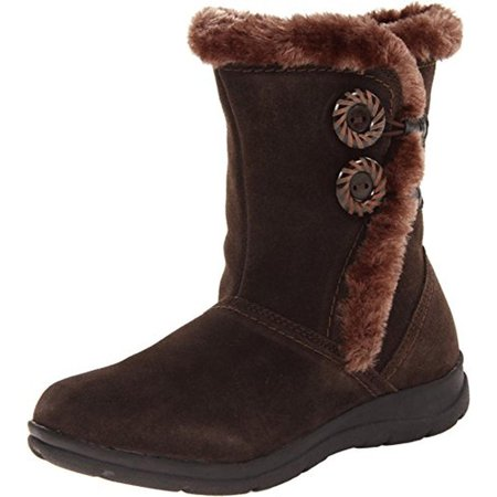 Faux Snow (White Mountain Womens Trip Suede Faux Fur Lined Snow)