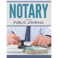 Notary Public Journal (Paperback)