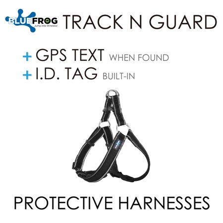 Dog Harness 1X Track N Guard GPS Message Ready & Built-In