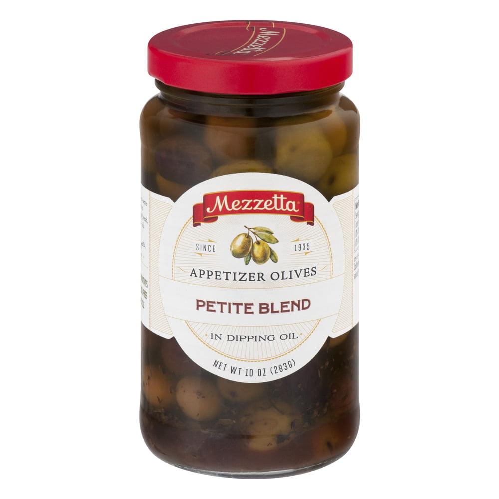 Mezzetta Appetizer Olives Petite Blend, 10.0 OZ by G L Mezzetta Inc.