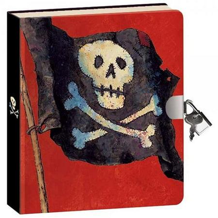 Peaceable Kingdom Pirates Lock and Key Diary ()