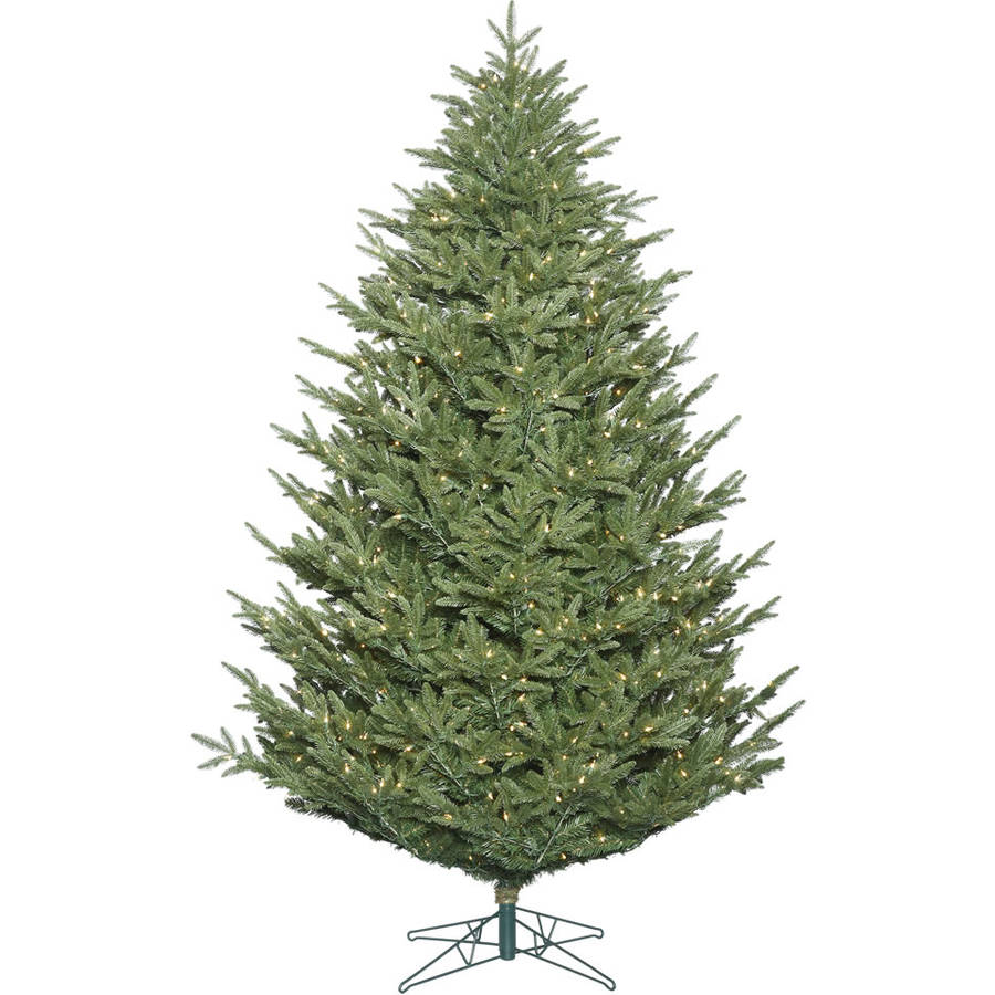 Vickerman 8.5' Deluxe Frasier Fir Artificial Christmas Tree with 1050 Clear Lights