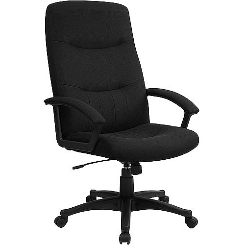 Fabric Upholstered Executive HighBack Swivel Office Chair