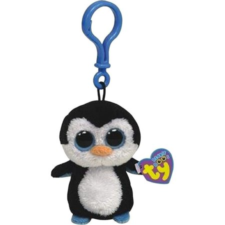 Waddles Penguin Beanie Boo Clip - Stuffed Animal by Ty (36505)