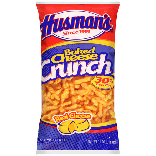 Husman's Baked Cheese Crunch Cheese Flavored Snack, 11 oz