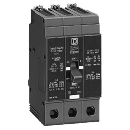 - Square D EDB34050 Thermal Magnetic Circuit Breaker