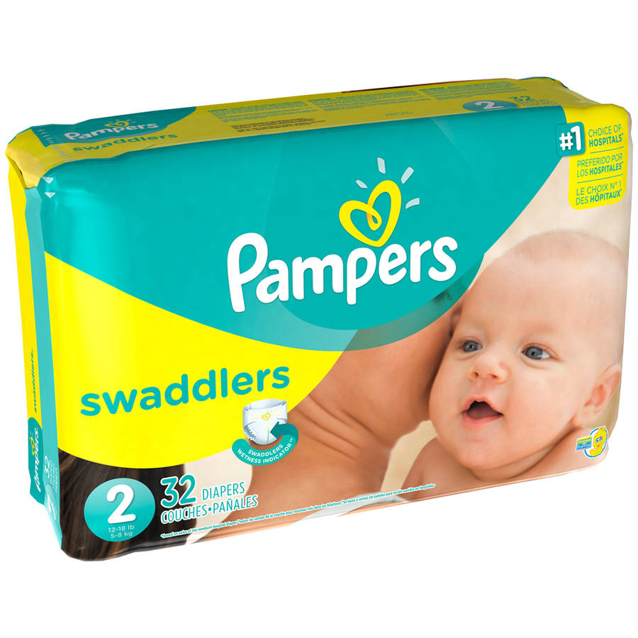 Pampers Swaddlers Diapers, Jumbo Pack, (Choose Your Size)