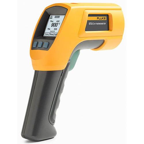 Fluke 572-2 High Temperature Infrared Thermometer, -22°F ...
