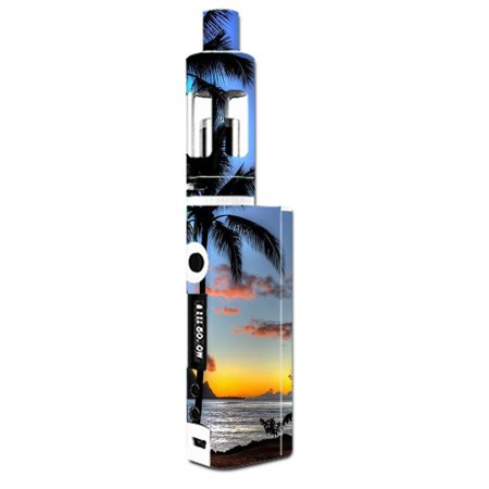 Mini Palm Tree (Skin Decal For Kangertech Subox Mini Vape Mod / Paradise Sunset Palm Trees )