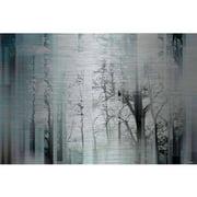 Parvez Taj Wild Trees Art Print on Brushed Aluminum