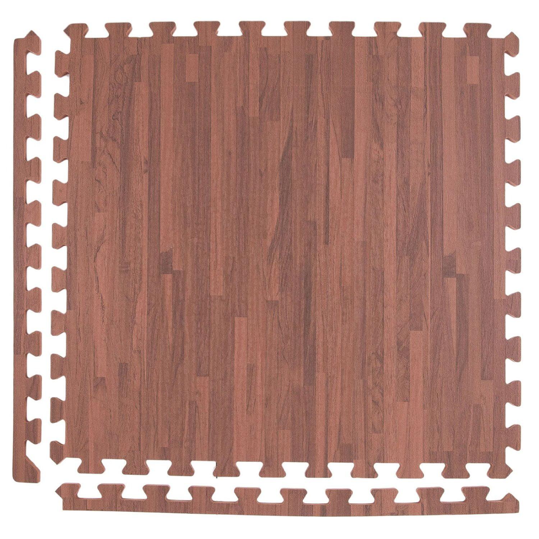 Incs Premium Soft Wood Tiles 2 X2 6 Tile Pack Light Oak