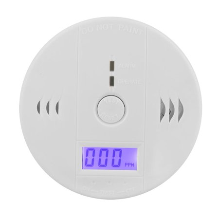 Yosoo LCD CO Carbon Monoxide Detector Poisoning Gas Warning Sensor Alarm, Carbon Monoxide