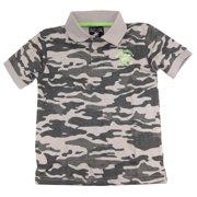 Beverly Hills Polo Club Little Boys' Camo Army Polo Shirt
