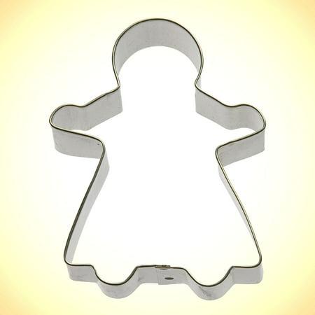 Gingerbread Girl Cookie Cutter 4.5 in (Girl Cookie Cutter)