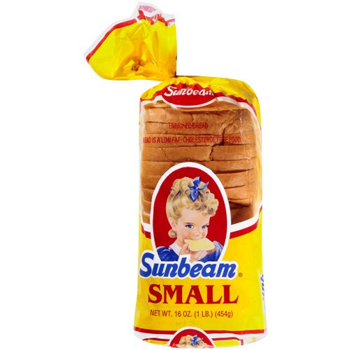 Sunbeam Small Sliced Bread, 16 oz