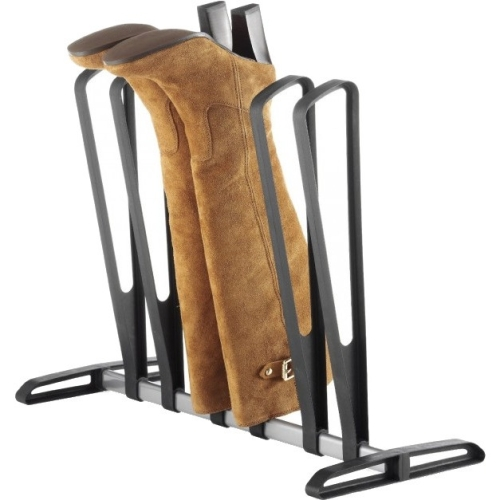 Whitmor 3-Pair Boot Rack Black