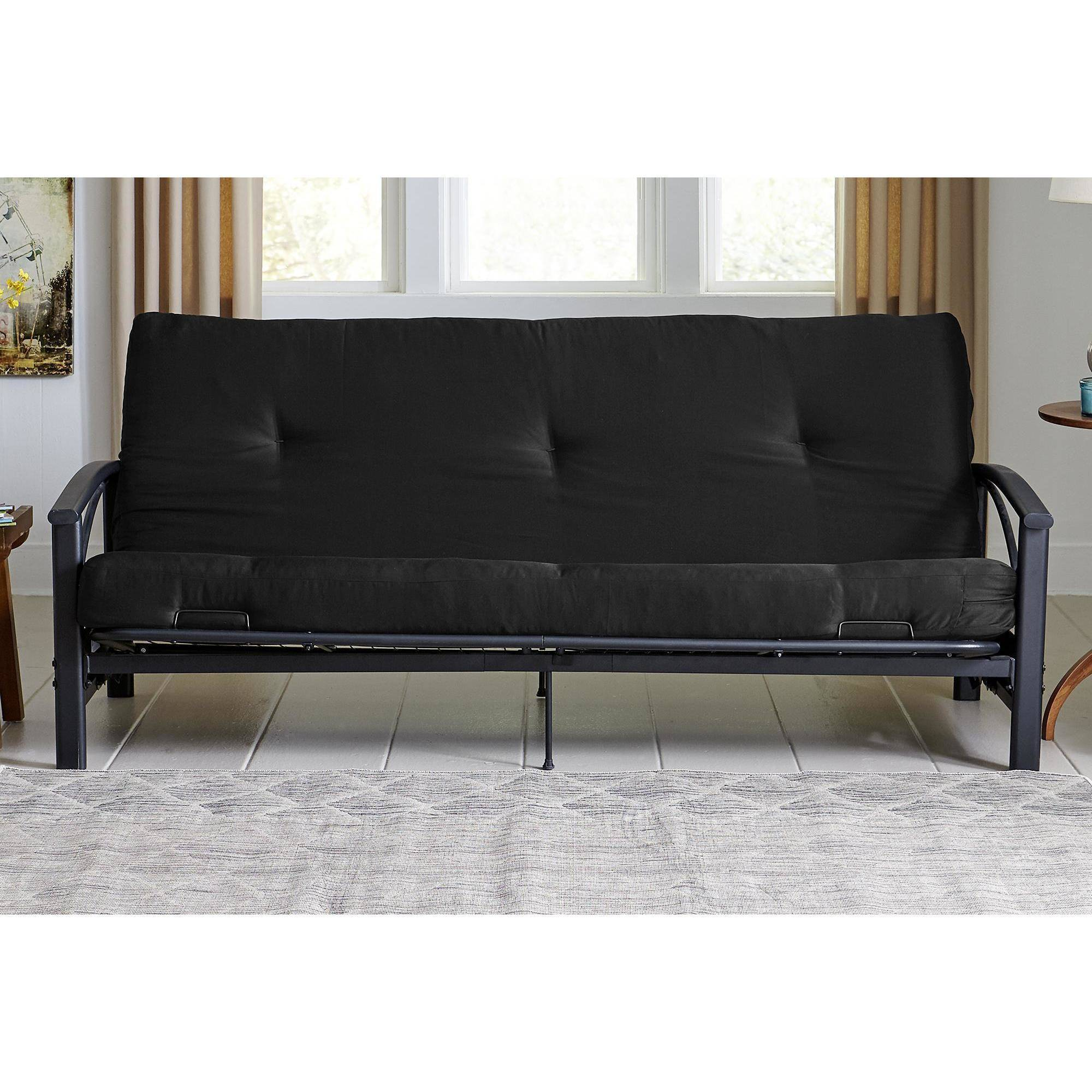 Dhp 6 Full Size Futon Mattress Black