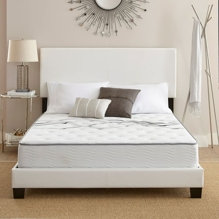 """Contura Flex 10"""" Firm Tight Top Cooling Air Flow Gel Foam and Innerspring Hybrid Mattress Bed, Multiple Sizes"""