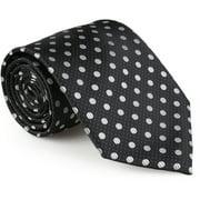 Mens Microfiber Handmade Polka Dot Tie and Hanky Set