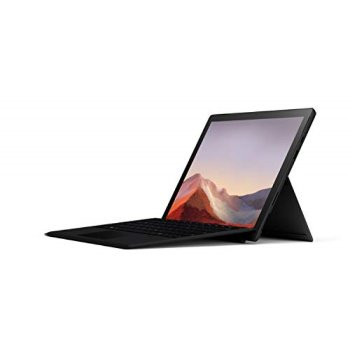 "Microsoft Surface Pro 7, 12.3"" Touch-Screen, Intel Core i5-1035G4, 8GB Memory, 256GB SSD, Iris Plus Graphics, Windows Home 10, Matte Black with Black Type Cover, QWV-00007"