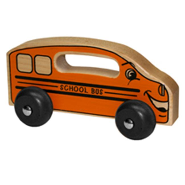Holgate HHZ102 Handeez Wood School Bus Toy