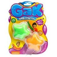 Gak Super Stretch Goo Green and Outrageous Orange
