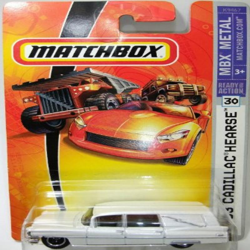 Mattel Matchbox 2007 MBX Metal 1:64 Scale Die Cast Car # 30 1963 White Pearl Cadillac... by