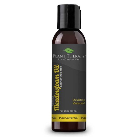 Plant Therapy Meadowfoam Carrier Oil 4 fl. oz. Base Oil for Aromatherapy, Essential Oil or Massage