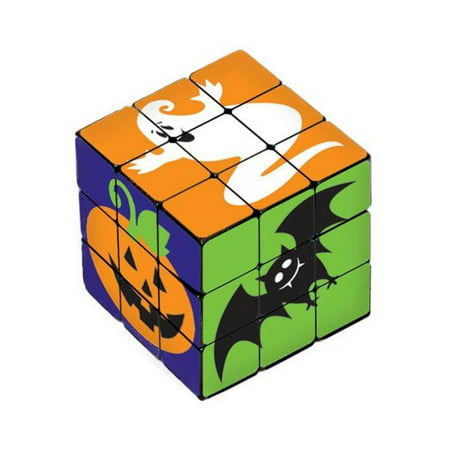 Halloween Cuba (Halloween Plastic Puzzle Cube (6 Count) - Party)