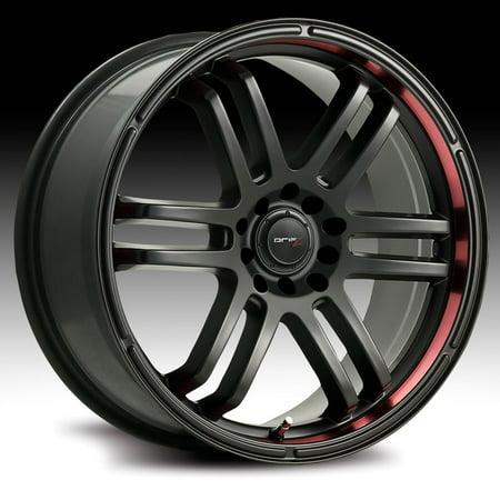 Drifz 207B FX Carbon Black 18x8 5x4.5 / 5x120 35mm - Ritchey Carbon Wheels