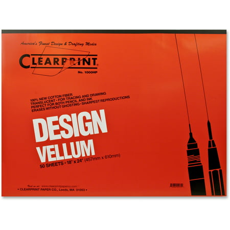 Clearprint Design and Sketch Pad, Unprinted, 18