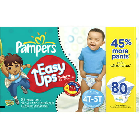 Pampers - Easy Ups Training Pants - Value Pack, Boy (sizes 2T/3T, 3T/4T, 4T/5T)