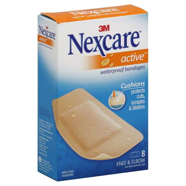 3M Nexcare Active Bandages, 8 ea