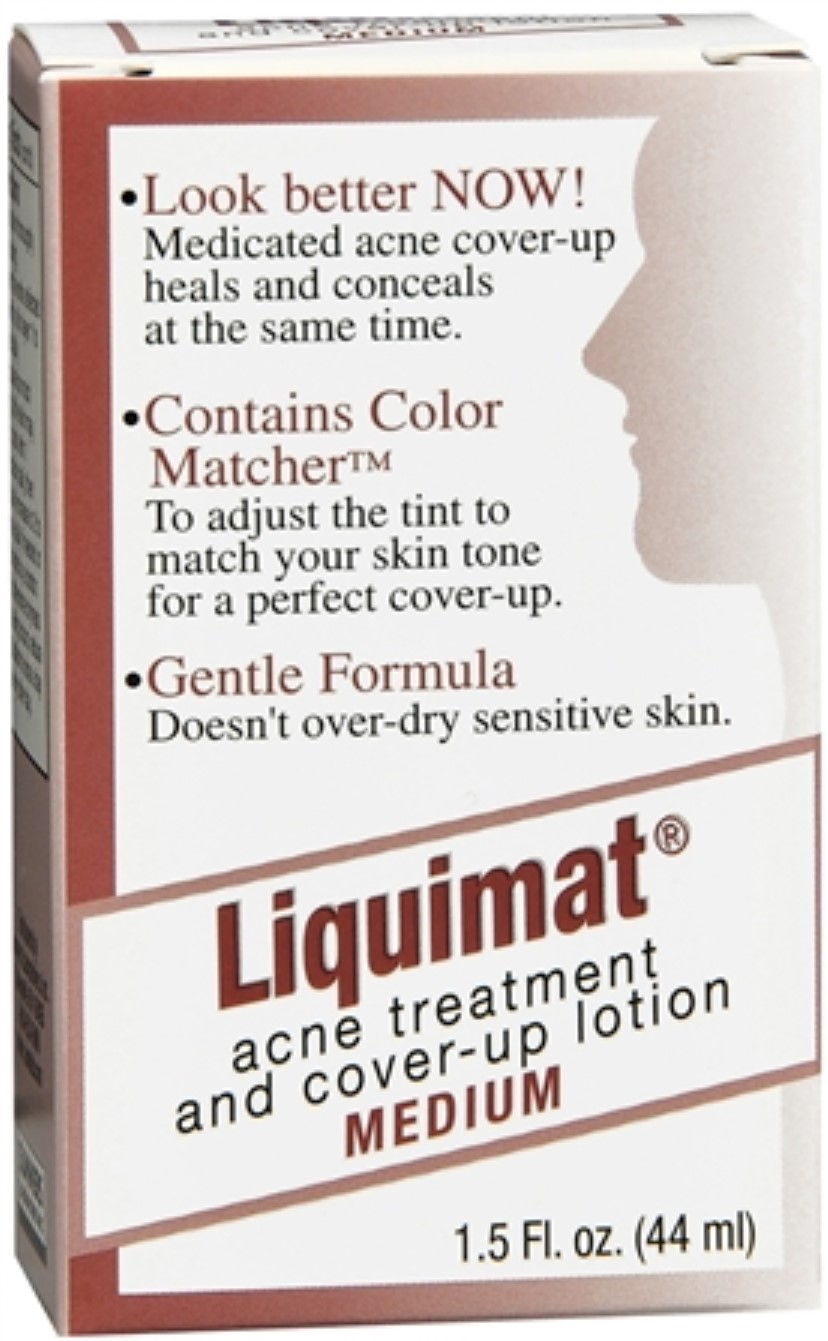 Liquimat Acne Treatment and Cover-Up Lotion Medium 1.50 oz (Pack of 3) Dermalogica Skin Smoothing Cream