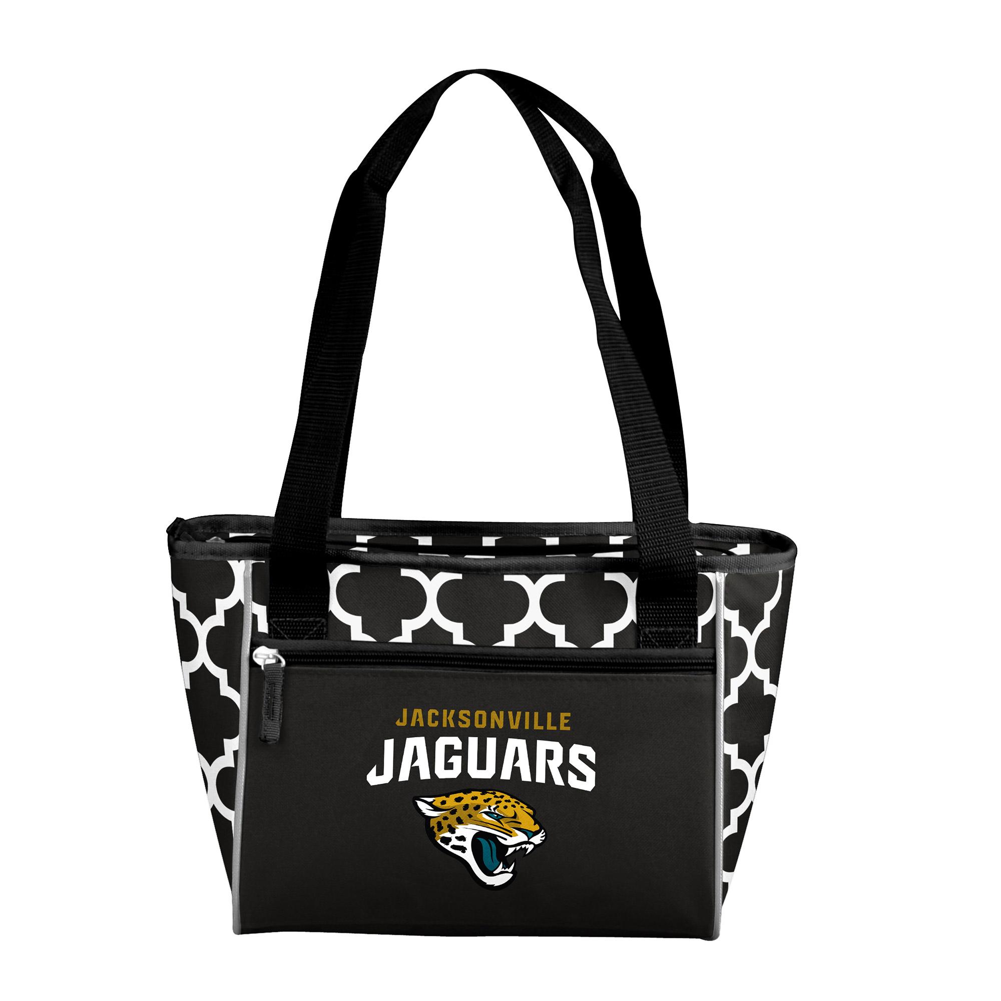 Jacksonville Jaguars Quatrefoil 16 Can Cooler Tote