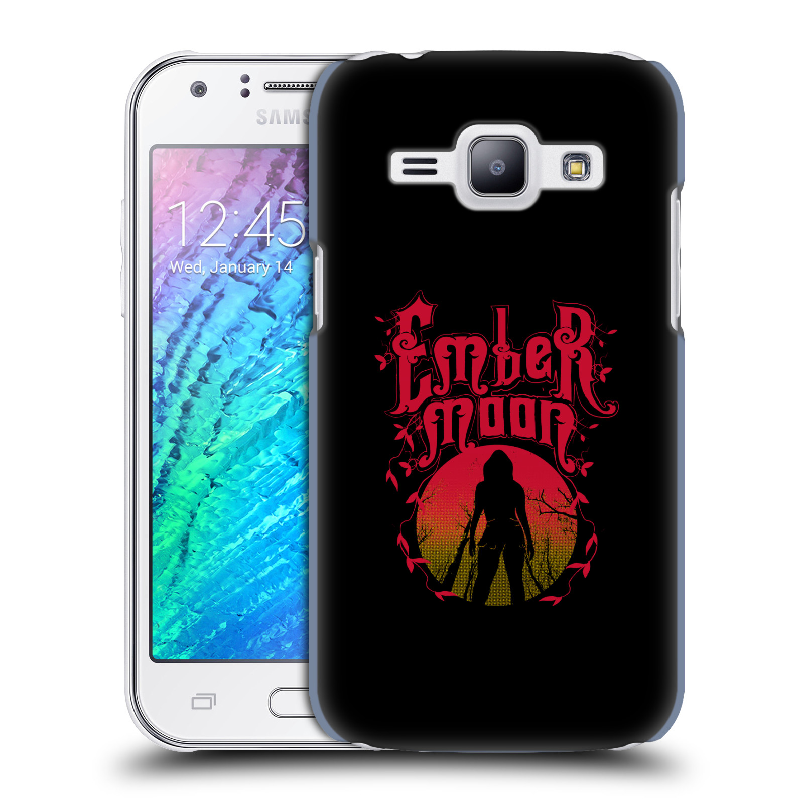 OFFICIAL WWE EMBER MOON HARD BACK CASE FOR SAMSUNG PHONES 4
