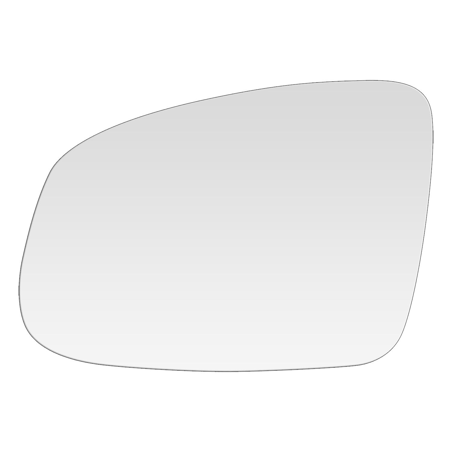 Driver Side Power Non-Heated Replacement Mirror MI-2172
