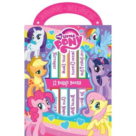 My Little Pony Tattoos (My Little Pony My 1st Library (Board)