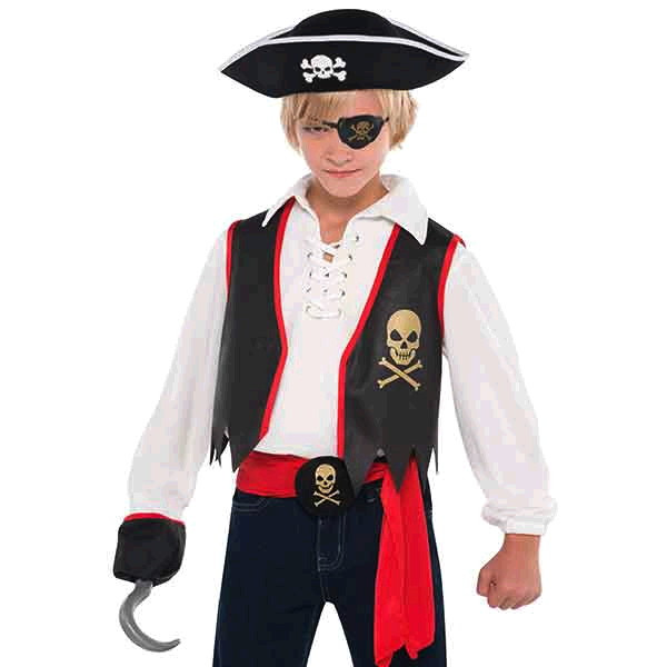 Pirate Buccaneer Costume Accessory Kit Child Boys by