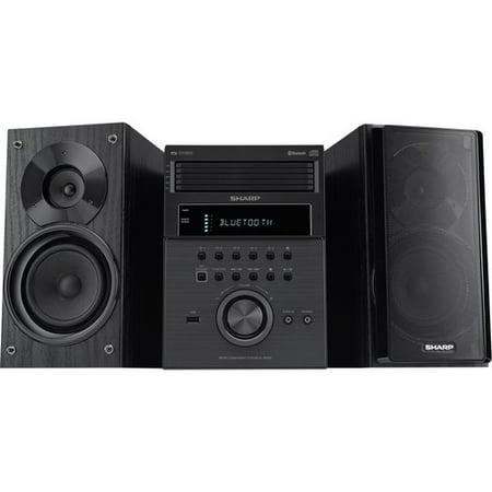 Sharp XLBH250 5-Disc Bluetooth Micro Shelf System (Sound Bar Sharp Aquos)
