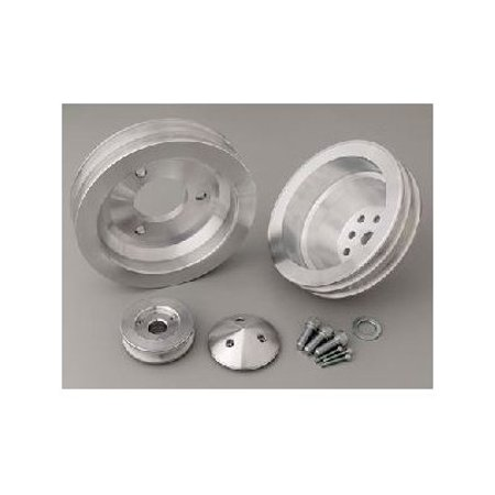 March Pulley Set (March Performance 7730 V-Belt Pulley Set - High Water Flow Ratio )
