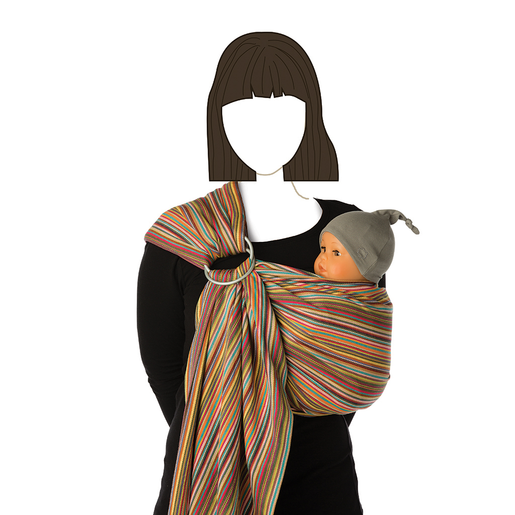 Babylonia Baby Carrier - BB Sling Moonshadow